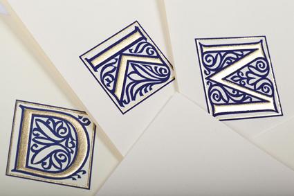 Classica Italiana Lettres initiales