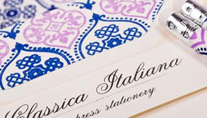 classica italiana letterpress